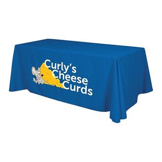 Customized 6' Economy Table Throw