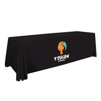 Customized 8'  Economy Table Throw