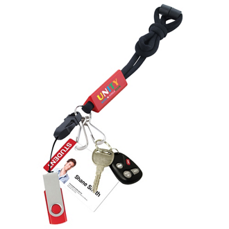 Customized Utility Lanyard with Attachments