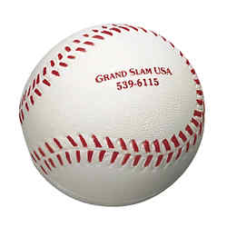 Customized Baseball Shape Stress Reliever