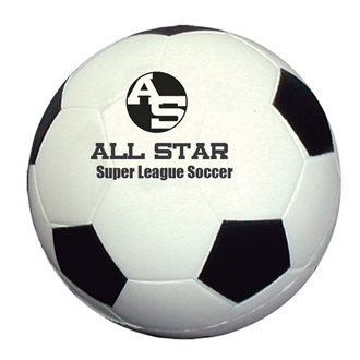 Customized Soccer Ball Shape Stress Reliever
