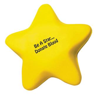 Customized Star Shape Stress Reliever