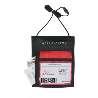 Customized Badge Holder Neck Wallet