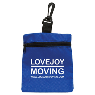 Customized Mini Zippered Non Woven Bag
