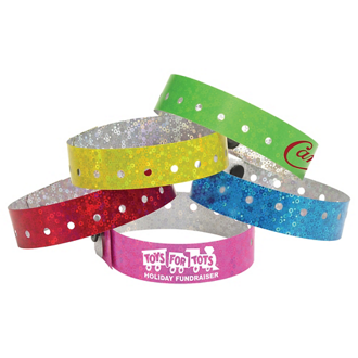 Customized Liquid Glitter Wristband