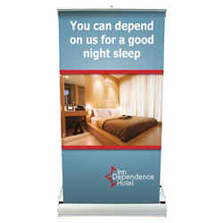 Customized Deluxe Mini Retractor Banner Kit-Full Color
