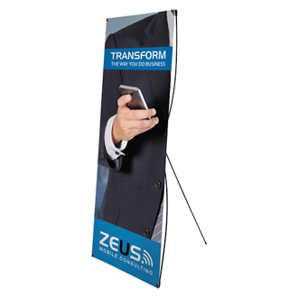 Customized Tri-X1 Banner Display Kit - Full Color