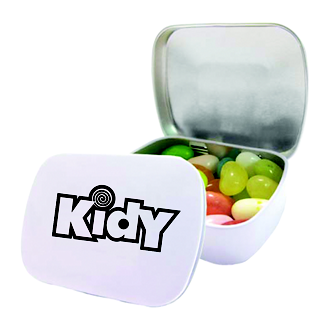 Customized Domed Tin-Jelly Belly®