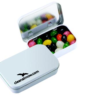 Customized Rectangular Tin - Sugar-Free MicroMints®