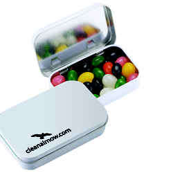 Customized Rectangular Tin - Sugar-Free MicroMints®