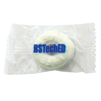 Customized Pep-O-Mint Individual Lifesavers
