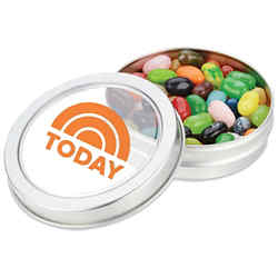 Customized Small Top View Tin-Jelly Belly®