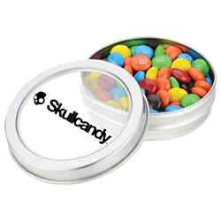 Customized Small Top View Tin-M&M's®