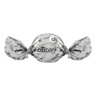 Customized Twist Wrapped Truffles - Individually Wrapped