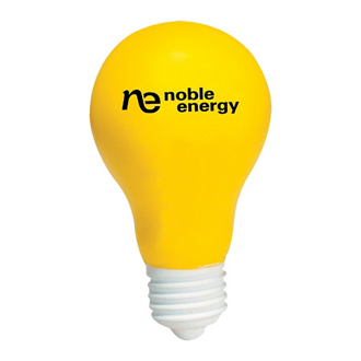 Customized Light Bulb Stress Reliever