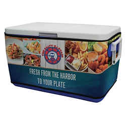 Customized 48 Quart Cooler Rappz Kit - Full Color