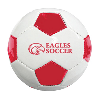Customized Mini Synthetic Leather Soccer Ball (Size 1)