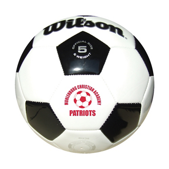Customized Wilson® Premium Synthetic #5 Leather Soccer Ball