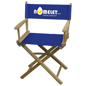 Customized Director Chair Table Height - Full Color