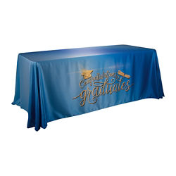 Customized 6' Satin Standard Table Throw