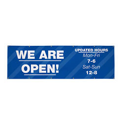 Customized 3' x 10' 13 oz Vinyl Single-Sided Banner