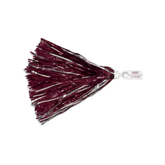 Customized 750 Strand Vinyl Pom Poms with Split Ring Handle