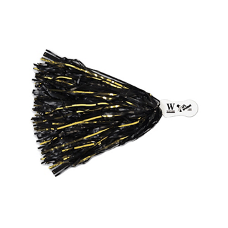 Customized Vinyl 500 Streamer Pom Poms with Contoured Handle