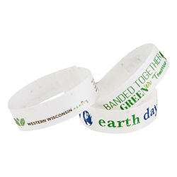 Customized Premium Seeded Paper Wristband