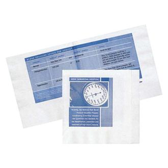 Customized 3 Ply White Beverage Napkin