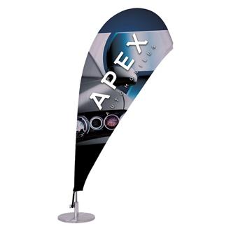 Customized Micro Teardrop Sail Sign, Single-Sided Kit