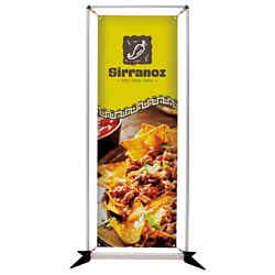 Customized 3' FrameWorx Banner Display