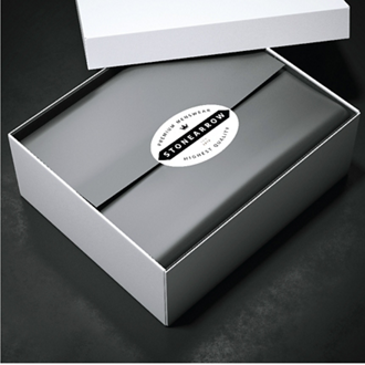 Customized White Gloss Paper Oval Label 4