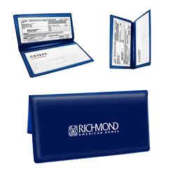 Customized Bi-Fold Valuable Documents Holder