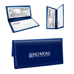 Customized Bi-Fold Valuable Documents Holder