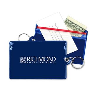 Customized Waterproof Key Ring Wallet