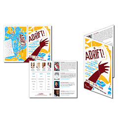 Customized 8.5''x11'' Bi-Fold Flyer Brochure