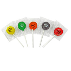 Customized Junior Ad Pop Lollipop