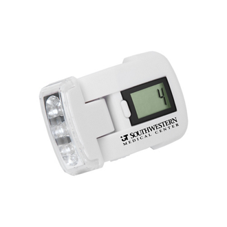 Customized Pedometer with LED Light