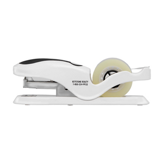 Customized Tag It Stapler and Tape Dispenser Combo