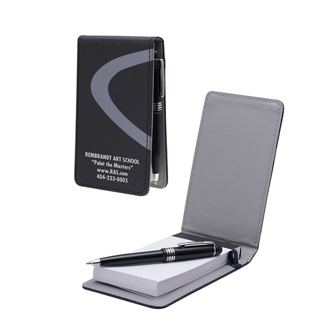 Customized Wave Notepad with Pen