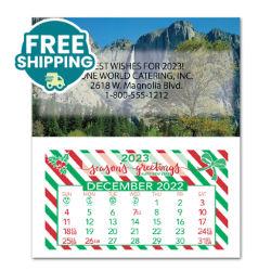 Customized Britebrand™ Monthly Magnetic Calendar