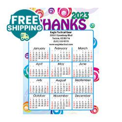 Customized Britebrand™ Jumbo Calendar Magnets