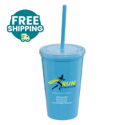 Customized Grande Britebrand™ 16 oz. Gary Double-Wall Tumbler