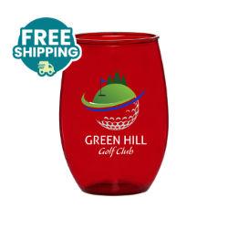 Customized Britebrand™ 16 oz. Stemless Gigi Plastic Wine Glass