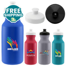 Customized Britebrand™ 20 oz. Speedy Bike Bottle