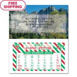 Customized Britebrand™ Monthly Magnetic Calendar