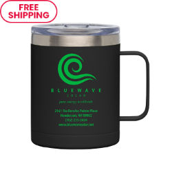 Customized 14 oz. Stainless Steel Noe Camp Mug with Lid