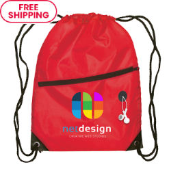 Customized Britebrand™ Everyday Commuter Drawstring Backpack