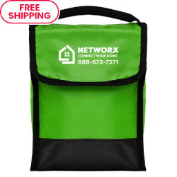 Customized Tera Foldable Lunch Bag with Front Pocket