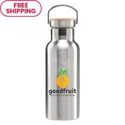 Customized Britebrand™ 17 oz. Stainless Nyla Water Bottle